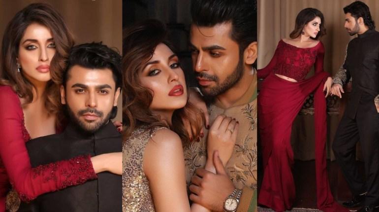 Farhan Saeed And Iman Ali In Recent Photoshoot