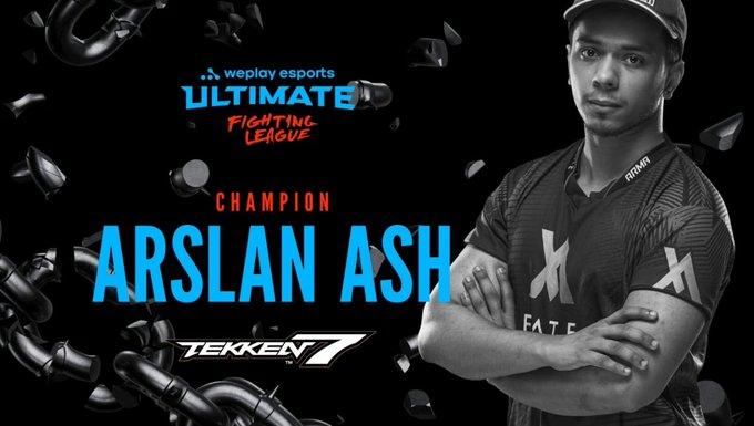 Pakistani Gamer Arsalan Ash won the WUFL Taken 7 Tournament