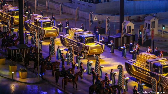Egypt Stages 'Golden Parade of Pharaohs'