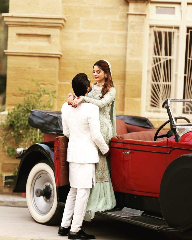 Minal Khan and Ahsan Mohsin Ikram got engaged