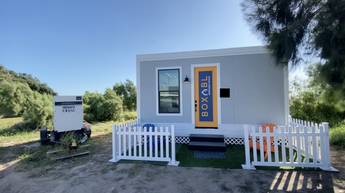 Elon Musk sold all of his mansions to live in a tiny $50k prefab house