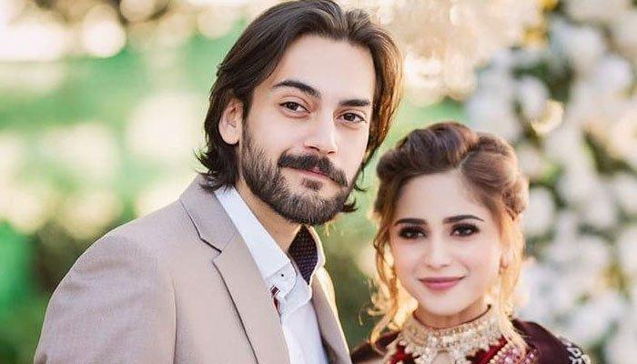 Aima Baig, Shahbaz Shigri engagement ceremony