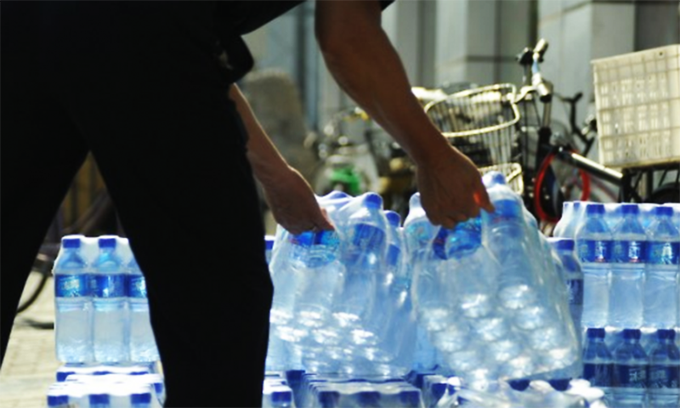 22 brands of bottled water found unsafe