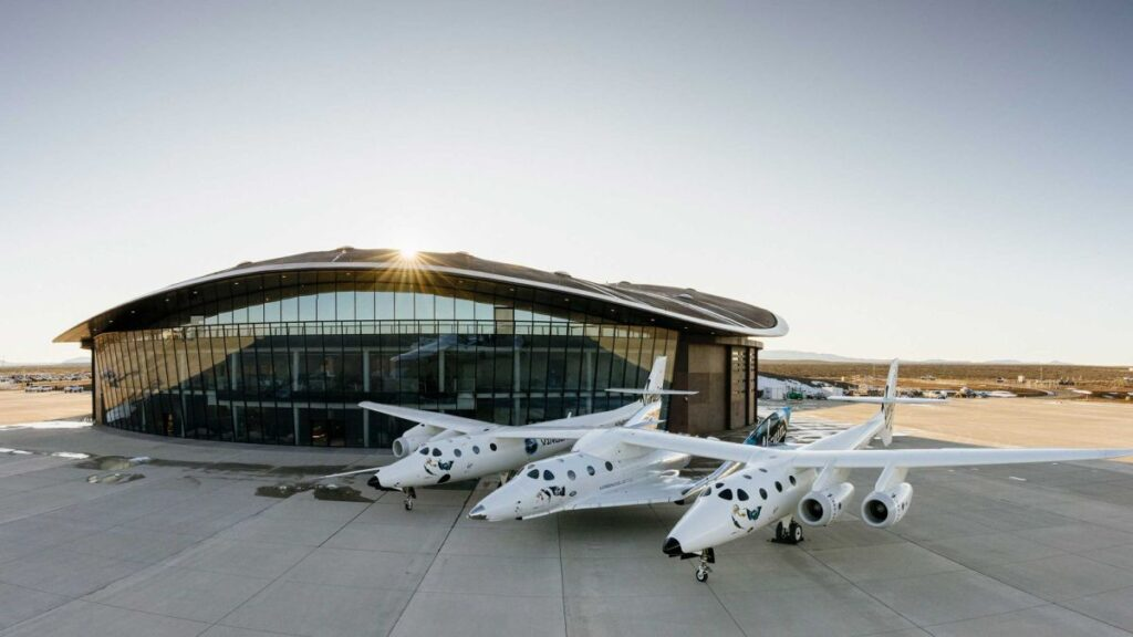 Virgin Galactic's SpaceShipTwo Unity 22 launch with Richard Branson