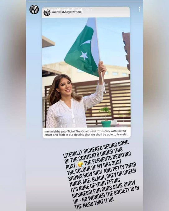Who is Mehwish Hayat, the Pakistani Actress Whose Independence Day Post Sparked a Controversy?-Social Pakora
