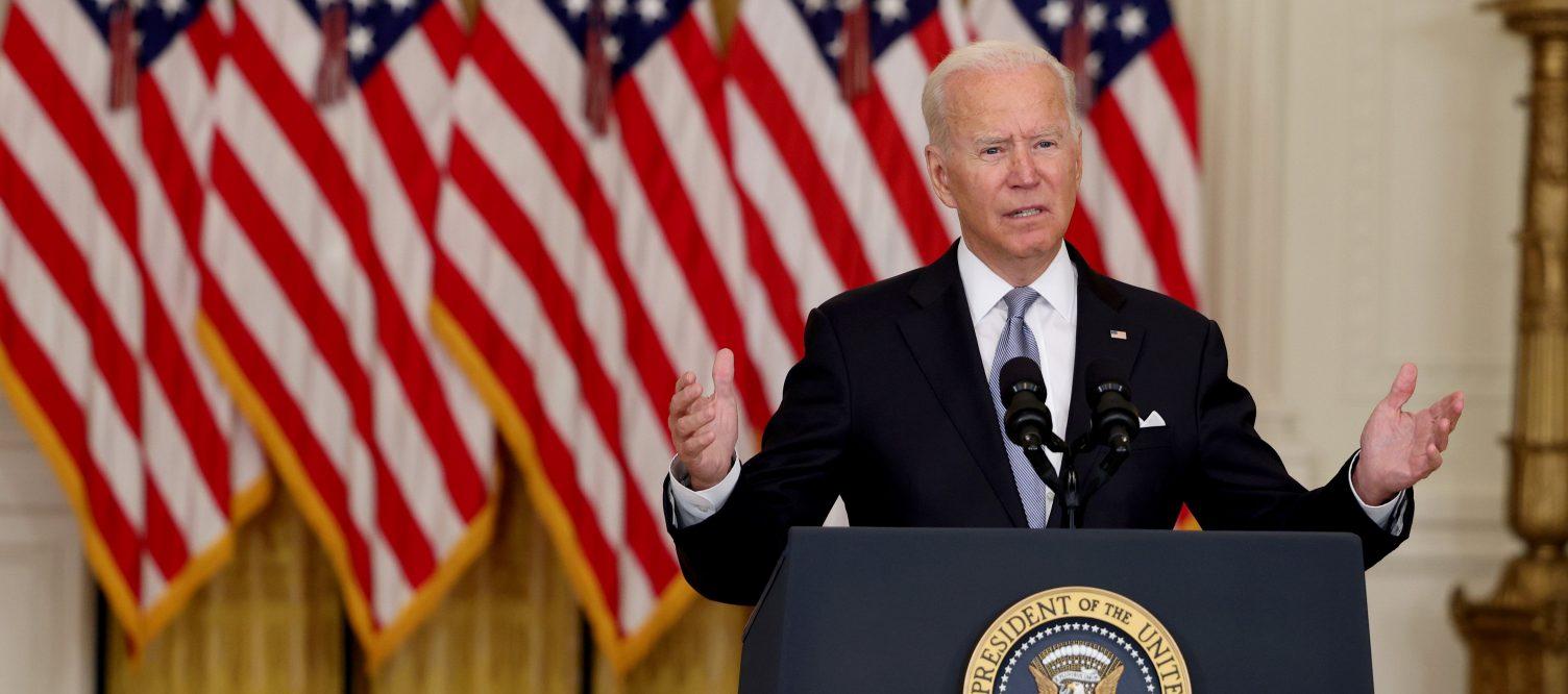 Biden Defends His Decision on Afghanistan