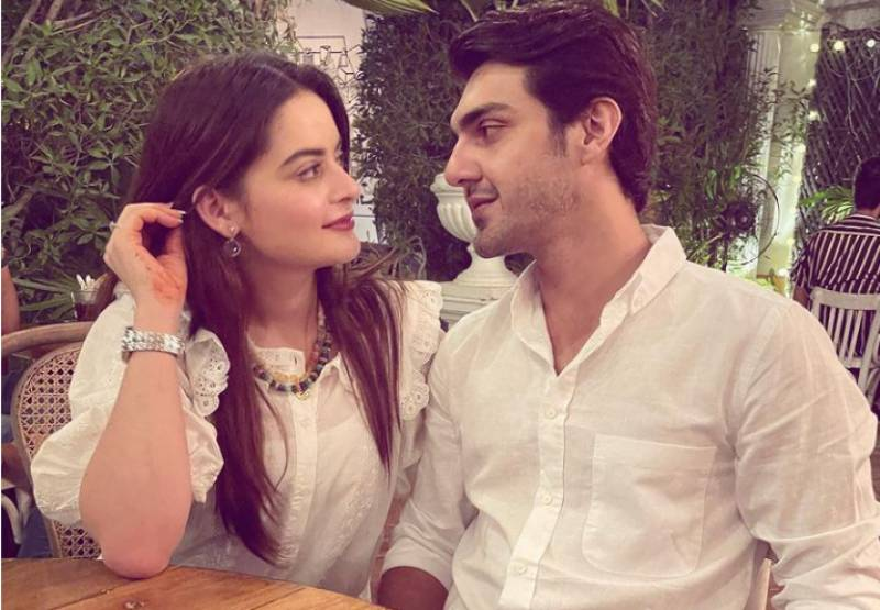 Minal Khan gives hubby a surprise birthday