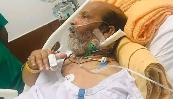 Umer Sharif stopover in Germany after health declined onboard US flight