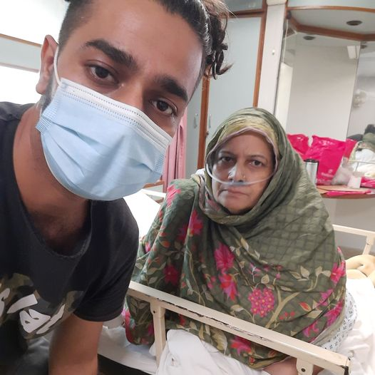 Famous youtuber Mohammad Ali raises funds for ill mother