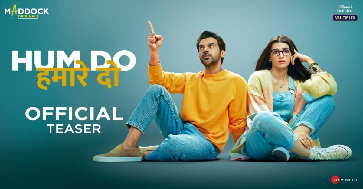 Hum Do Hamare Do – Official Teaser | Rajkummar | Kriti | Paresh R |