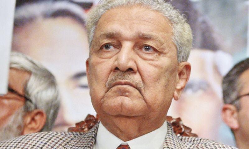 National hero Dr Abdul Qadeer Khan passes away